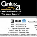 Century 21 Lakeside Realty Ltd.