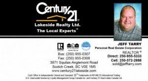Century 21 Lakeside Realty Ltd.