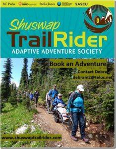 Shuswap TrailRider Adaptive Adventure Society